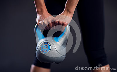 Weightlifting with kettle-bell