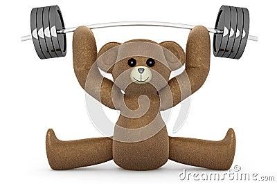Weightlifting Teddy