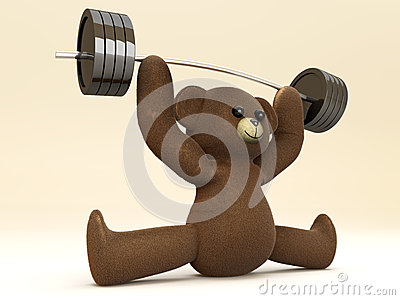 Weightlifting Teddy