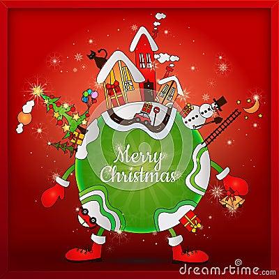 weihnachten auf der ganzen welt stockbilder bild 28398484. Black Bedroom Furniture Sets. Home Design Ideas