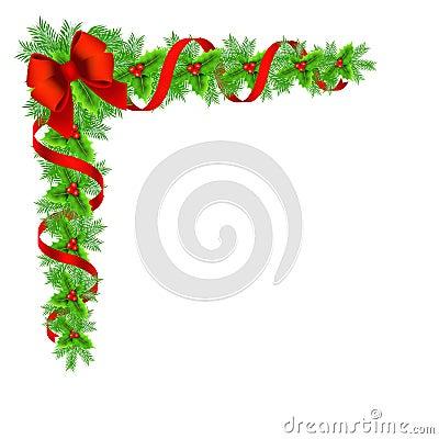 weihnachten holly border stock abbildung bild 47854047. Black Bedroom Furniture Sets. Home Design Ideas