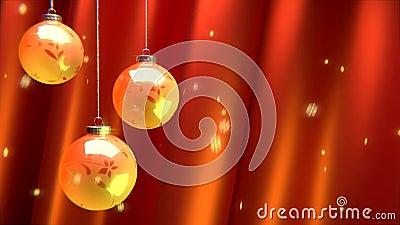Weihnachten verziert Feiertag stock footage