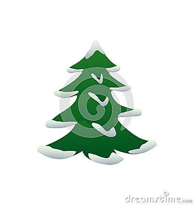 weihnachtsbaum mit schnee lizenzfreie stockbilder bild. Black Bedroom Furniture Sets. Home Design Ideas