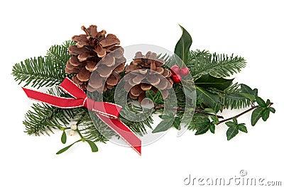 Weihnachtsflora und -fauna