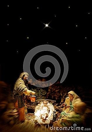 WeihnachtsGeburt Christi