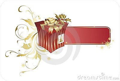 Weihnachtsgeschenkkasten
