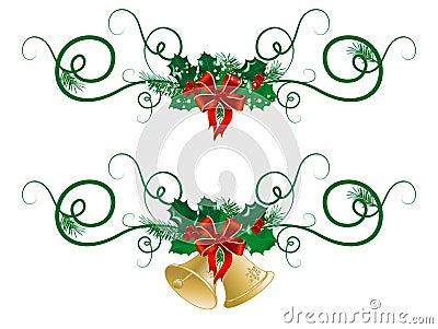 Weihnachtsgirlanden lizenzfreies stockfoto bild 17413465 for Weihnachtsgirlanden bilder kostenlos