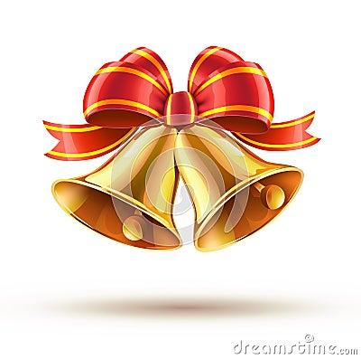 weihnachtsglocken lizenzfreies stockfoto bild 21511875. Black Bedroom Furniture Sets. Home Design Ideas