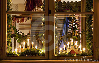 weihnachtskerzen stockbilder bild 17093264. Black Bedroom Furniture Sets. Home Design Ideas