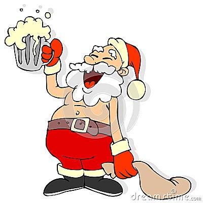 weihnachtsmann karikatur lizenzfreie stockfotos bild 3809888