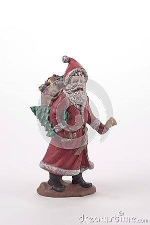Weihnachtsmann keramisch