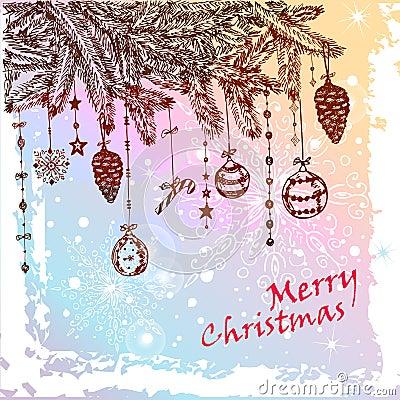 Weihnachtspelzbaum
