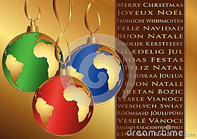 weihnachtsw nsche in den verschiedenen sprachen lizenzfreie stockbilder bild 28032109