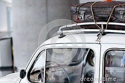Weinlese-Gepäck