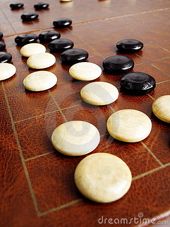 Free Weiqi Or Go Game Strategies Royalty Free Stock Photography - 6215917