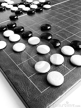 Free Weiqi Strategy - Ancient Chinese Chess Royalty Free Stock Image - 8028656
