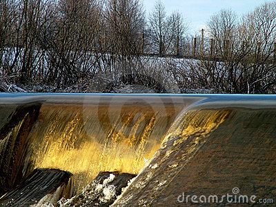 Weir detail 1