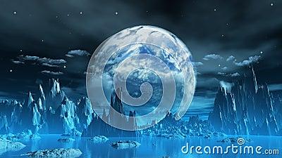 Weird ice planet