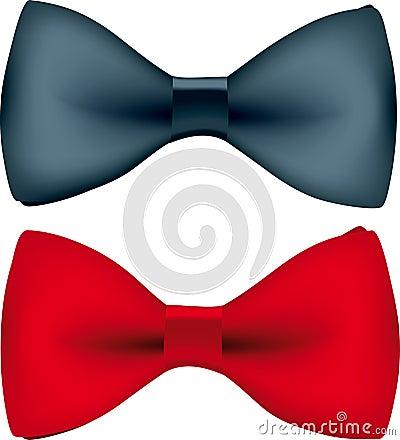 Wektor krawat bow