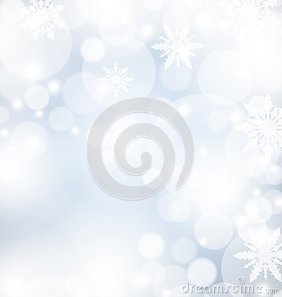 Welcome snoflakes abstract background