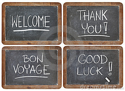 Welcome, thank you,, good luck