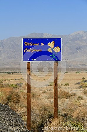 USA, California: Welcome!
