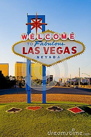 Welcome to Fabulous Las Vegas Editorial Photo