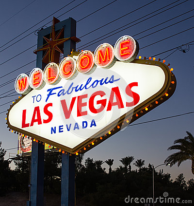 Free Welcome To Las Vegas Stock Photography - 37952052