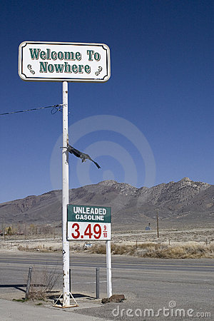 Free Welcome To Nowhere Stock Photos - 5759493