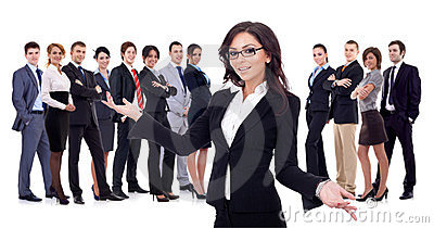 Welcome to the successful happy business team