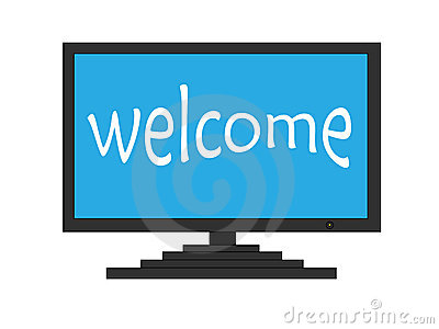 Welcome on TV screen