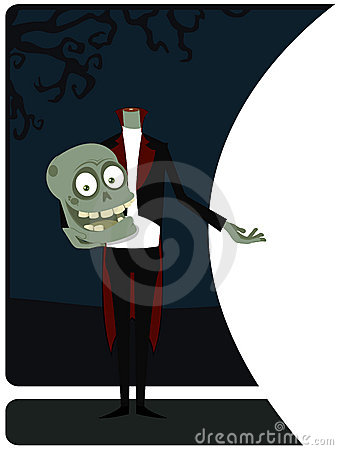 The welcoming zombie