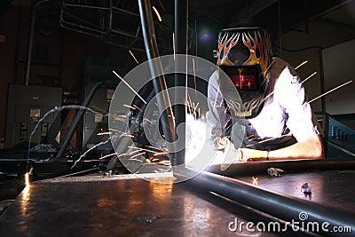 Welding Car Frame