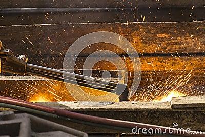 Welding rails