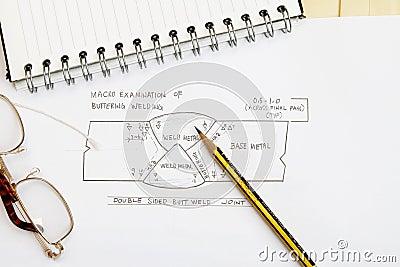 Welding sketch