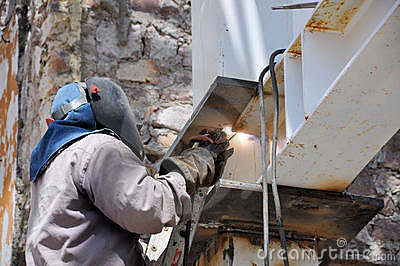 Welding Worker Royalty Free Stock Images - Image: 16075039