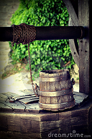 Well and bucket
