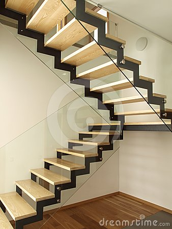 Well designed stairs royalty free stock photo - Escaleras de madera para exteriores ...