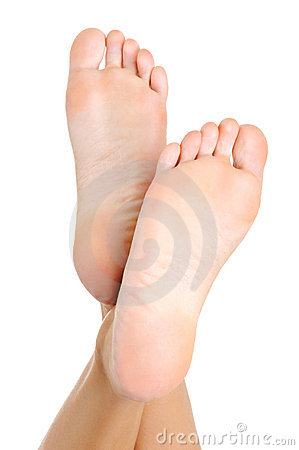 Free Well-groomed Female A Foot Stock Images - 13110924