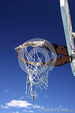 Free Well Used Basketball Hoop Stock Photography - 16318152