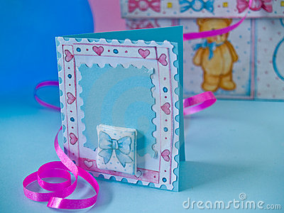 Wellcome baby card