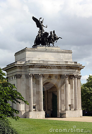 Wellington Arch London England