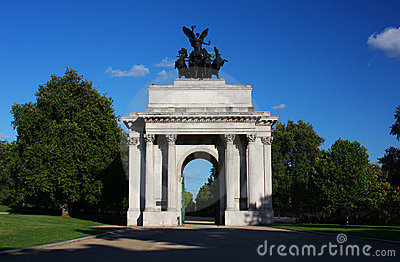Wellington Arch in London s Hyde Park