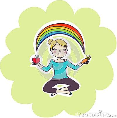 Wellness balance concept