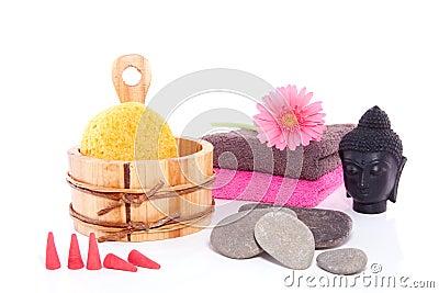 Wellness decoration with Budha