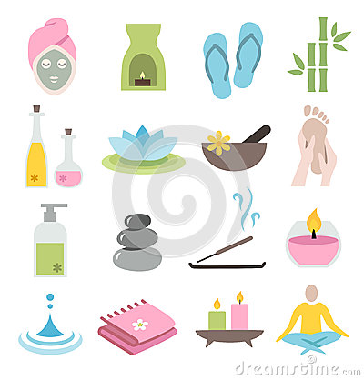 Free Wellness Icons Royalty Free Stock Images - 41872759