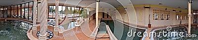 Wellness pools in hotel