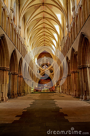 Free Wells Cathedral Royalty Free Stock Photography - 68876467