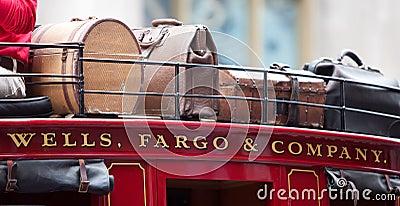 Wells Fargo Bank Editorial Photography