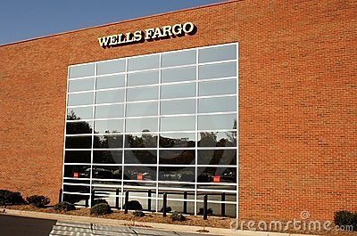 Wells Fargo Building Editorial Stock Image